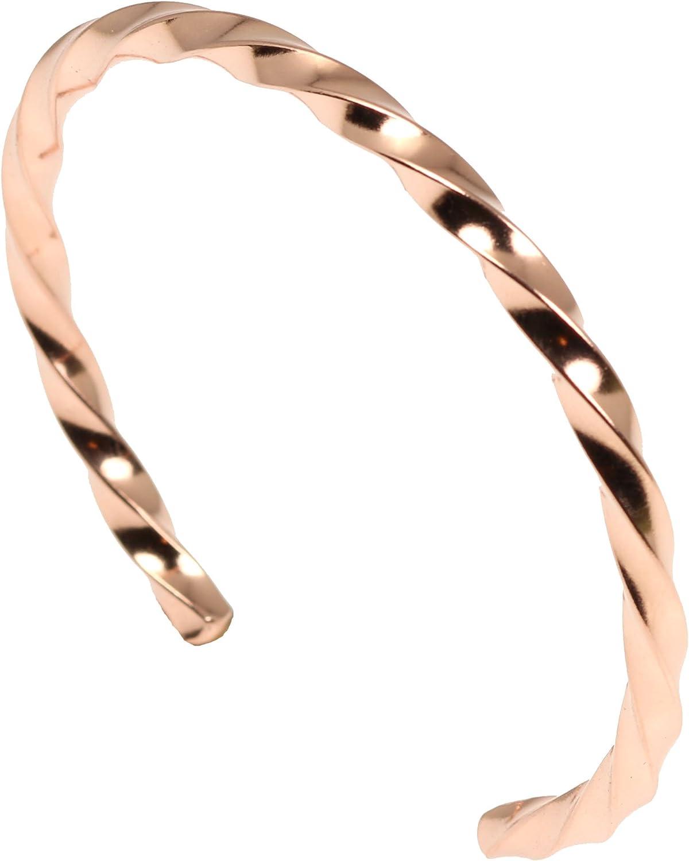 Twisted Copper Cuff...