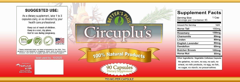 Amazon.com: Blood Circulation Capsules - Circuplus: Health & Personal Care