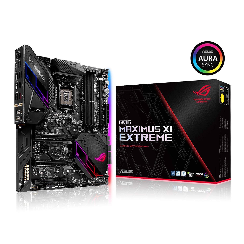ASUS ROG Maximus XI Extreme Z390 Gaming Motherboard LGA1151 (Intel 8th and 9th Gen) EATX DDR4 HDMI M.2 USB 3.1 Gen2 Onboard 802.11ac WiFi