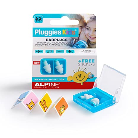 b936a55b59d7 Alpine Pluggies Kids 2015 Tappi per Orecchie per Bambini: Amazon.it ...
