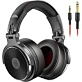 OneOdio Adapter-Free Over Ear Headphones for Studio Monitoring and Mixing, Sound Isolation, 90° Rotatable Housing with…