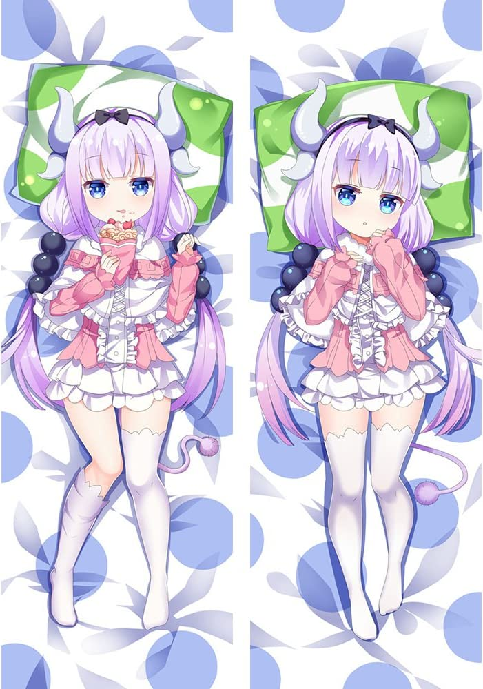 Miss Kobayashi/'s Dragon Maid Anime Dakimakura PillowCase Body Cushion Cover 59/""