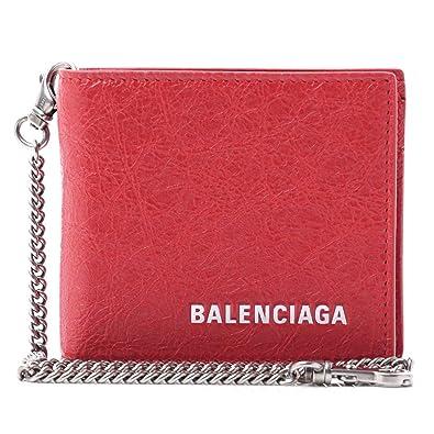 fe281c606f21 (バレンシアガ) BALENCIAGA 2つ折り 財布 小銭入れ付き EXPLORER SQUARE WALLET CHAIN エクスプローラー  スクエア