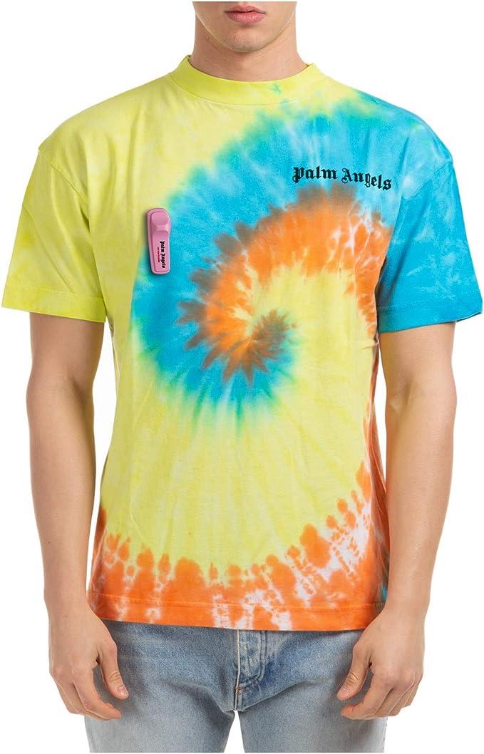 Palm Angels Hombre Camiseta Giallo XL: Amazon.es: Ropa y ...