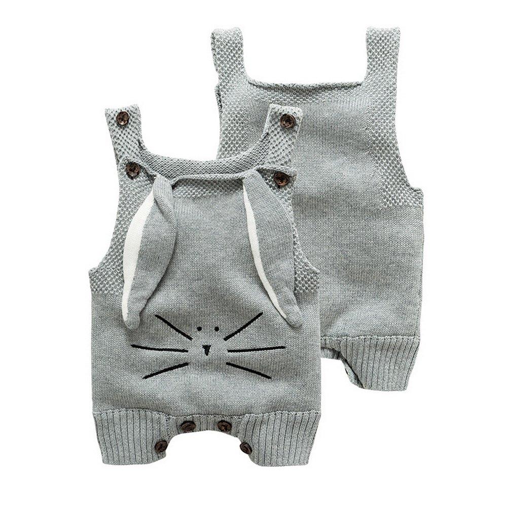 ARAUS Neonato Pagliaccetto Salopette Di Maglia Bimbo Pataloni Knitwear Outfit 3410P10