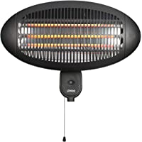 Calefactor por infrarrojos para terraza, exterior, calefactor eléctrico para terraza (calefactor…