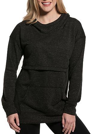 957147b39c67c Nursing Queen Drop Shoulder Nursing Hoodie -Charcoal Gray Sweatshirt (3X)