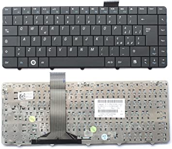ITALIANBIZ Teclado negro italiano Notebook compatible con Dell 11Z 1110 V109002AK1