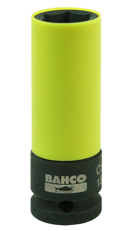 Bahco BWSS12P319 Wheel Socket, Black/Yellow, 19 mm