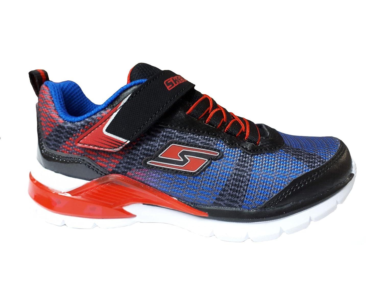 fabrieksoutlets geweldige prijs details voor Skechers Kids Sneakers Erupters II Lava Waves 90553L / BKRB ...
