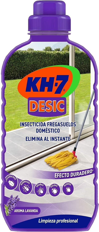 KH-7   Friegasuelos   Aroma a lavanda   Friegasuelos repelente de hormigas e insectos   Prevención hasta 15 días   Ideal para hogares con animales   Formato único