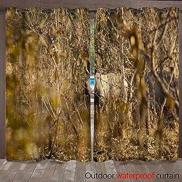 Amazon com : WinfreyDecor Outdoor Curtain for Patio Baby