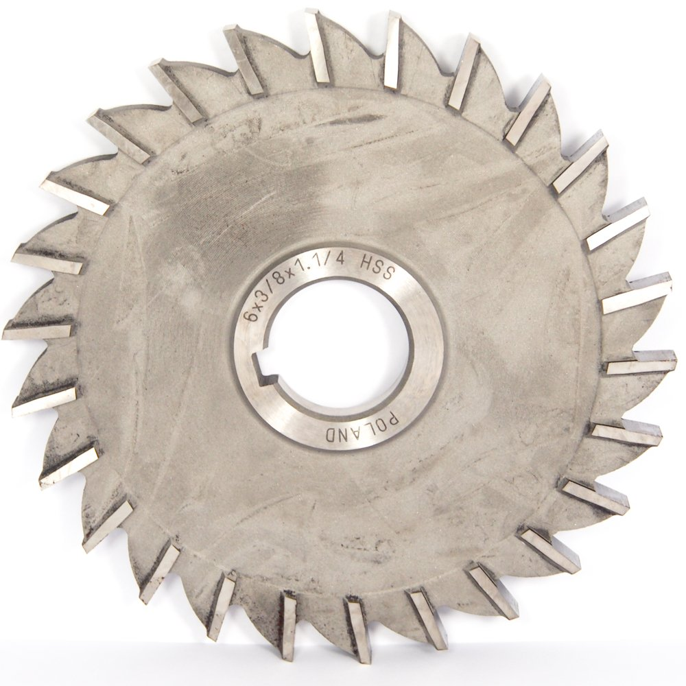 """Straight Tooth 5 x 5//16 x 1/"""" HSS Side Milling Cutter"""
