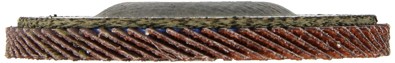 4-1//2 Diameter 051111496138 4-1//2 Diameter Pack of 1 Ceramic Grain 3M Flap Disc 747D 36 Grit
