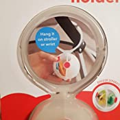 Skip Hop 2751 - Caja de almacenamiento para chupetes, color blanco