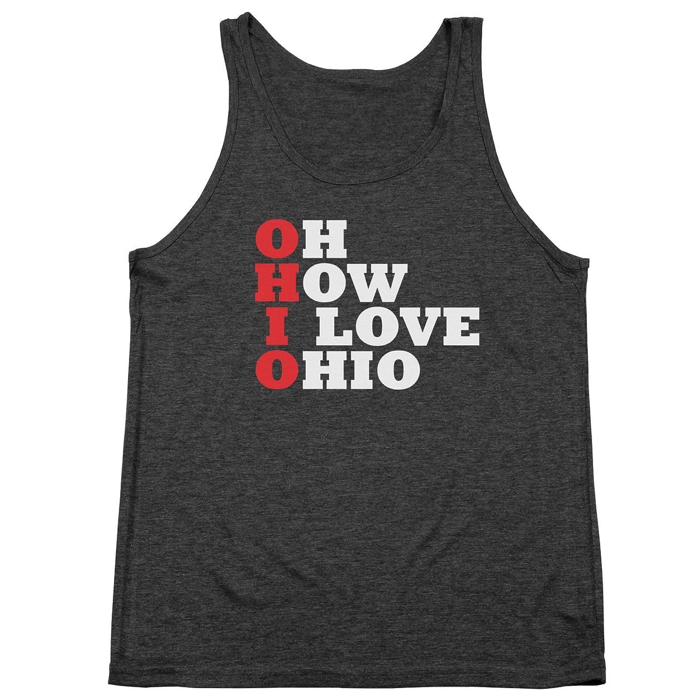 Oh How I Love Ohio Tri-Blend Tank Top