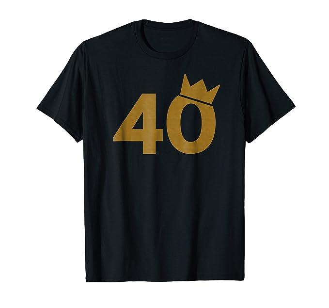 Mens 40 Gold Crown