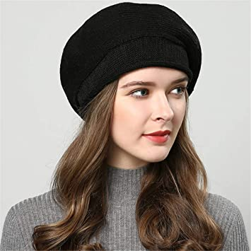 fd73cd895ff871 Winter Hats For Women Knitted Hat Fashion Berets Women's Autumn Hat Touca  Inverno Feminina 7 Colors