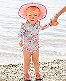 RuffleButts Baby/Toddler Girls Fab Flamingo One