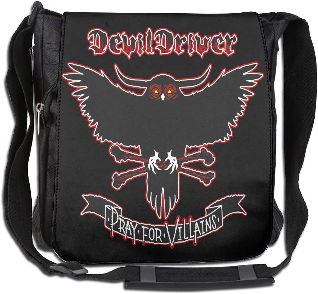 DevilDriver Large Capacity Messenger Bag Shoulder Bag Simple Fashion Personality