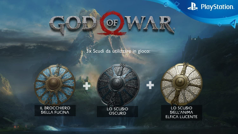 God of War - Bonus Edition [Esclusiva Amazon.it] - PlayStation 4 ...
