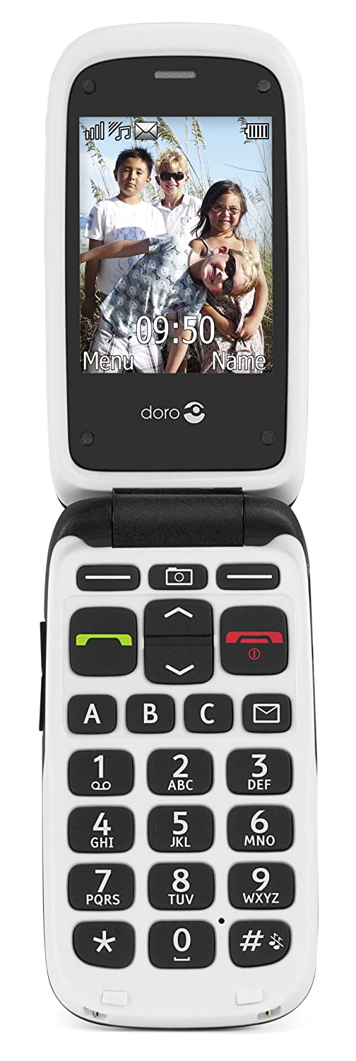 Amazon Doro Phoneeasy 612 Mobile Phone Gsm Black Cell