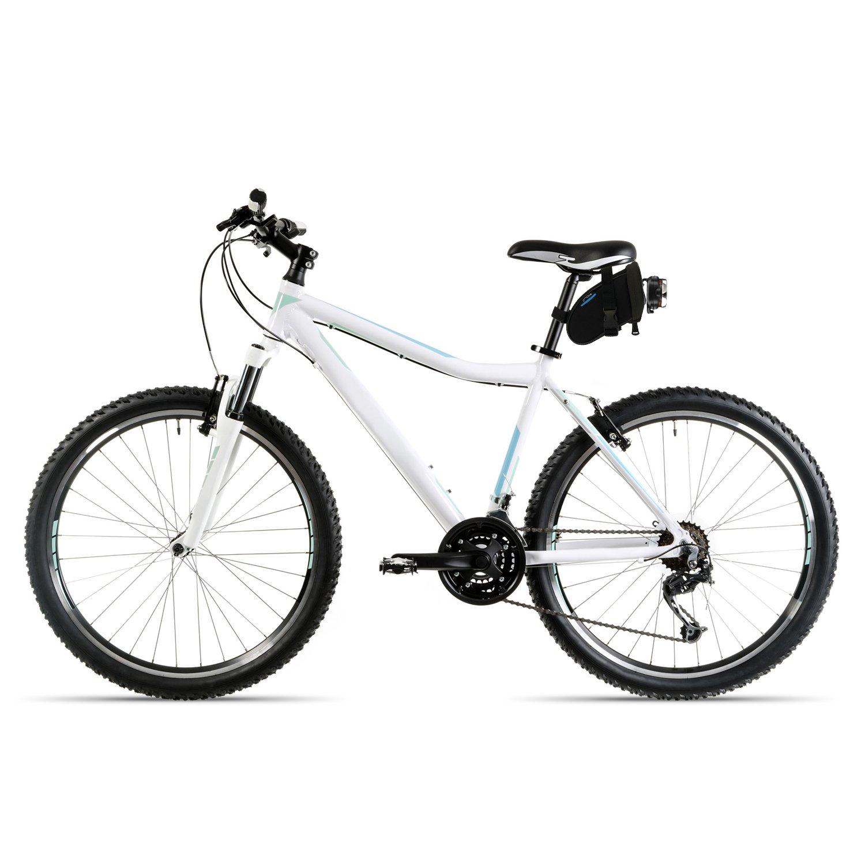igadgitz Grande Negro Bolsa para Sillín de Bicicleta Resistente al Agua Wedge Pack de Asiento: Amazon.es: Deportes y aire libre