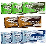 MEG - Military Energy Gum | 100mg of Caffeine Per Piece + Increase Energy + Boost Physical Performance + Multi Flavors…