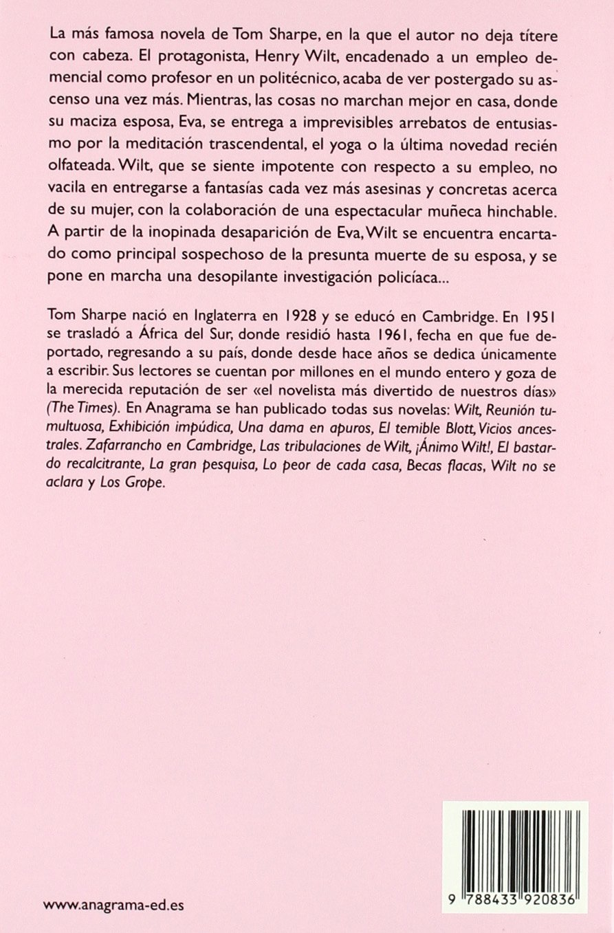Wilt (Compactos Anagrama): Amazon.es: Sharpe, Tom, Alvarez Flórez ...