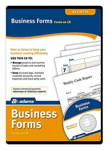 Amazoncom Adams Business Forms Software Forms On CD SW - Legal forms software for attorneys