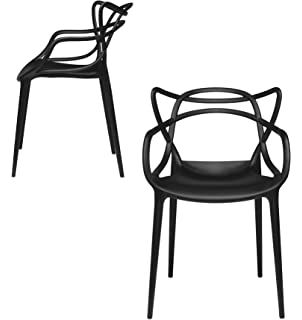 Set Of 2   Masters Entangled Chair   Modern Designer Armchairs For Dining  Rooms, Offices