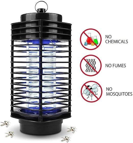 iweed Lámpara Antimosquitos Electrico Mata Mosquitos Moscas Insectos Polillas Control de Insectos UV LED Lámpara Mosquitos Interior y Exterior: Amazon.es: Jardín