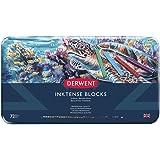Derwent Inktense Permanent Watercolour Blocks, Set of 72, Professional Quality, 2301980 - Multicolour