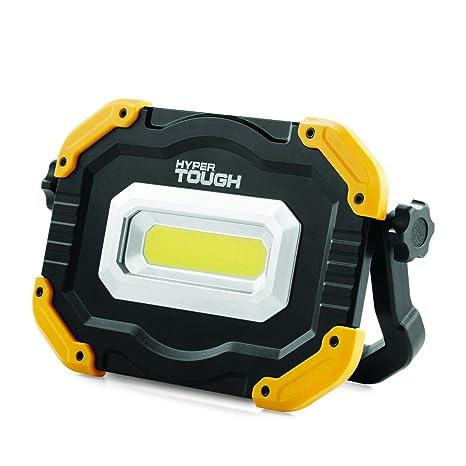 Hyper Tough 2500 Lumen Rechargeable Led Work Light Foldable