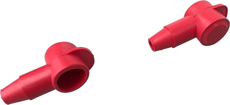 coperchio terminale batteria 10 pezzi nero 16 fino a 50 mm/² cappa aspirante 18mm