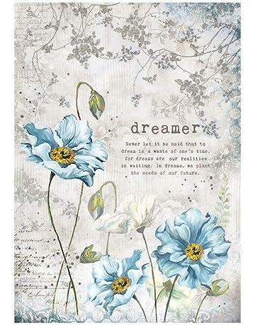 Stamperia Papel de Arroz Dreamer, 21 X 29.7 Cm Multicolor