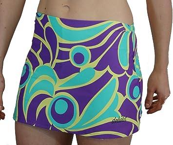 DEBOLIT - Falda Asia Tonos Violeta. Faldas de Padel/Tenis con ...