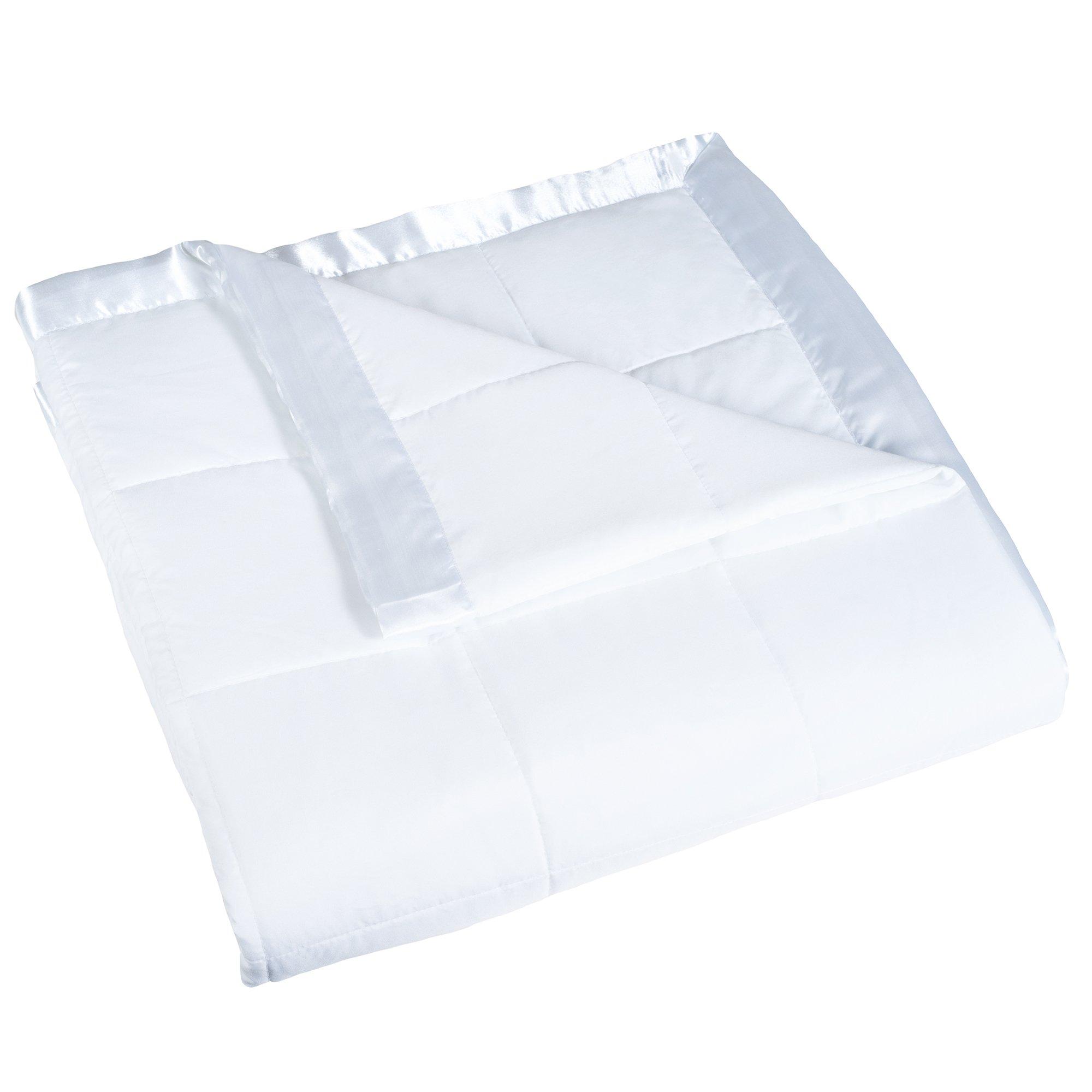 Lavish Home Down Alternative Blanket, Twin, White