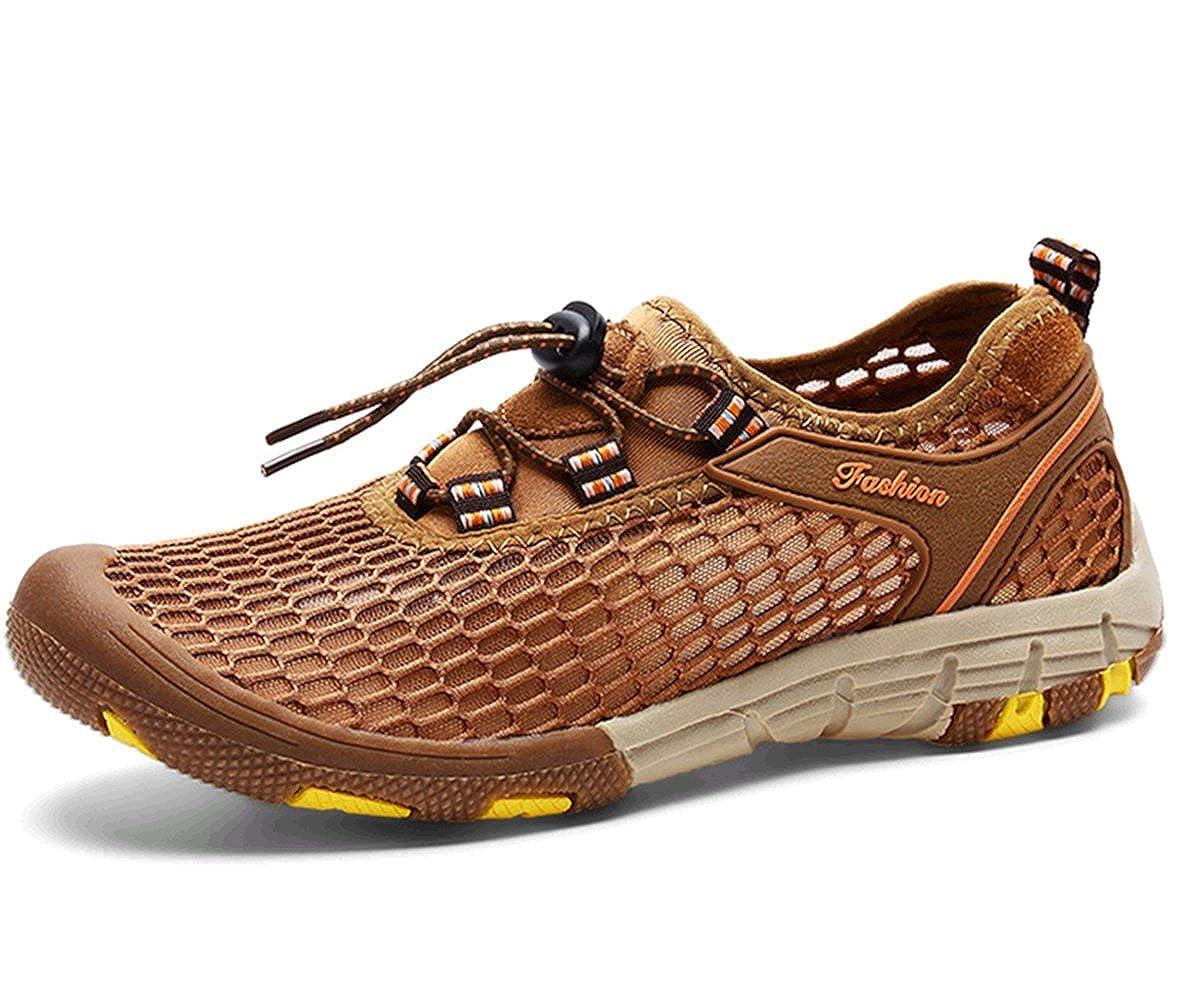 K3K Hot New Mens Fashion Casual Breathable Mesh Slip Hiking Shoes