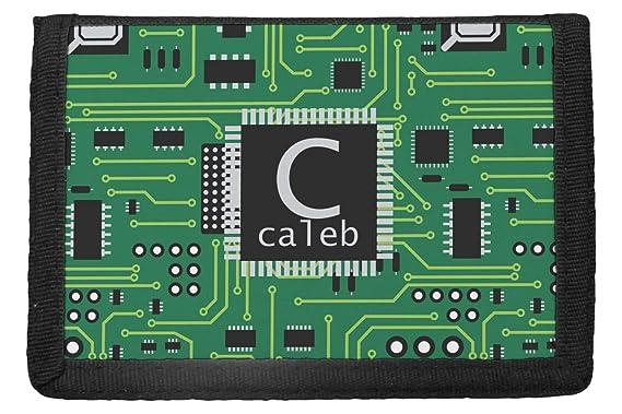 Amazon.com: Circuit Board Trifold – Cartera (personalizada ...