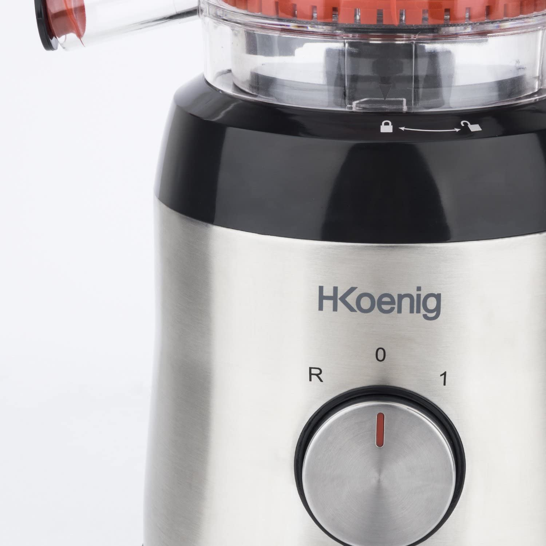 H.Koenig Licuadora para Frutas y Verduras de Prensado en Frío ...