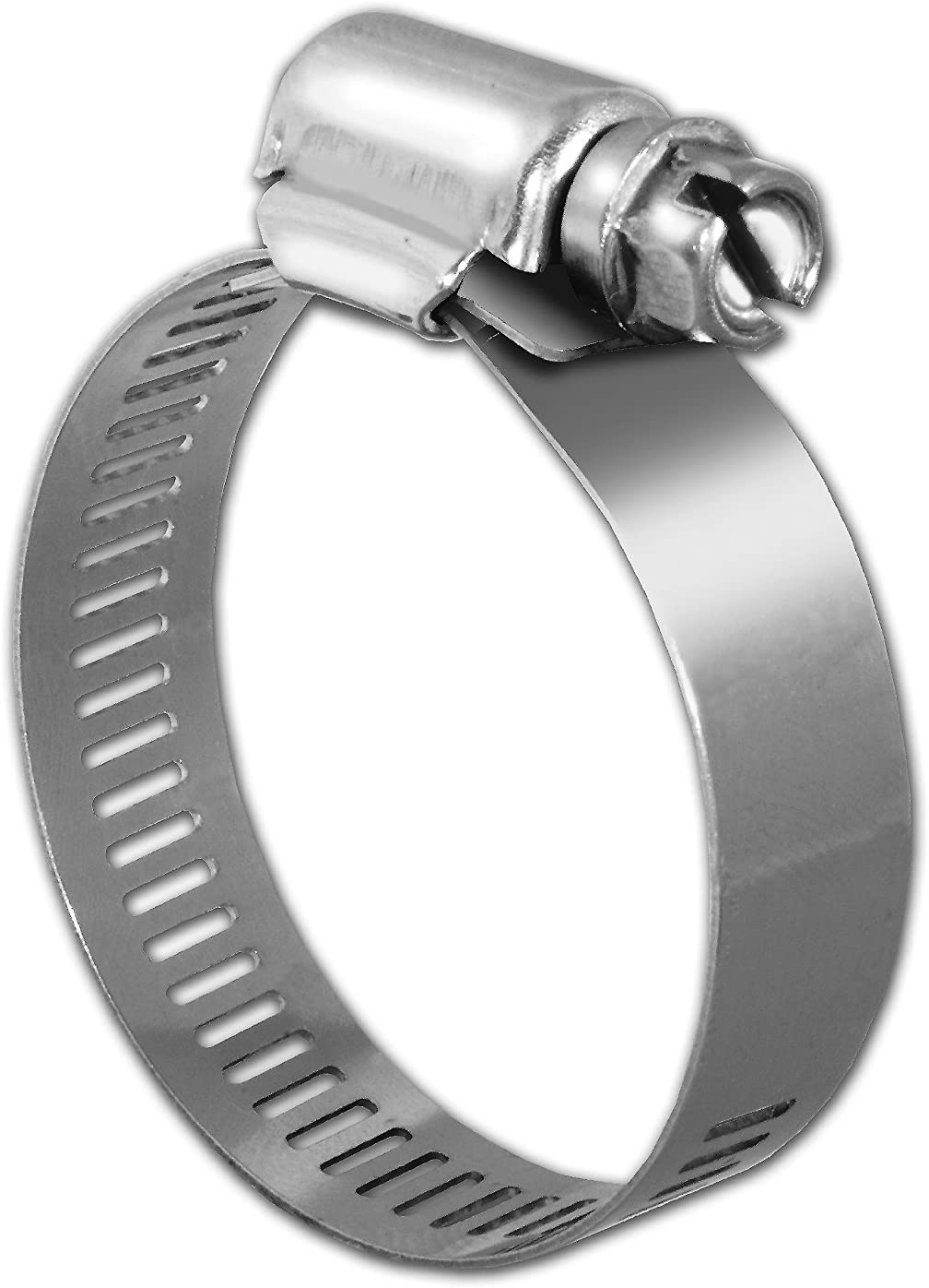 """5 Pcs Stainless Steel Hose Clamp 1-3//8/>3/"""""""