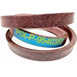 754-0358, 954-0358, Replacement Belt Made with Kevlar. for MTD, Wards, Cub Cadet, Troy Bilt, White, YardMan by Pix