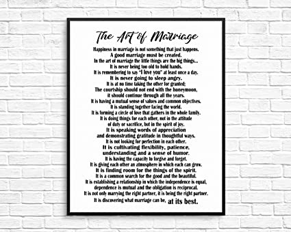 image about Printable Poem named : Arvier The Artwork of Partnership Poem Printable by means of