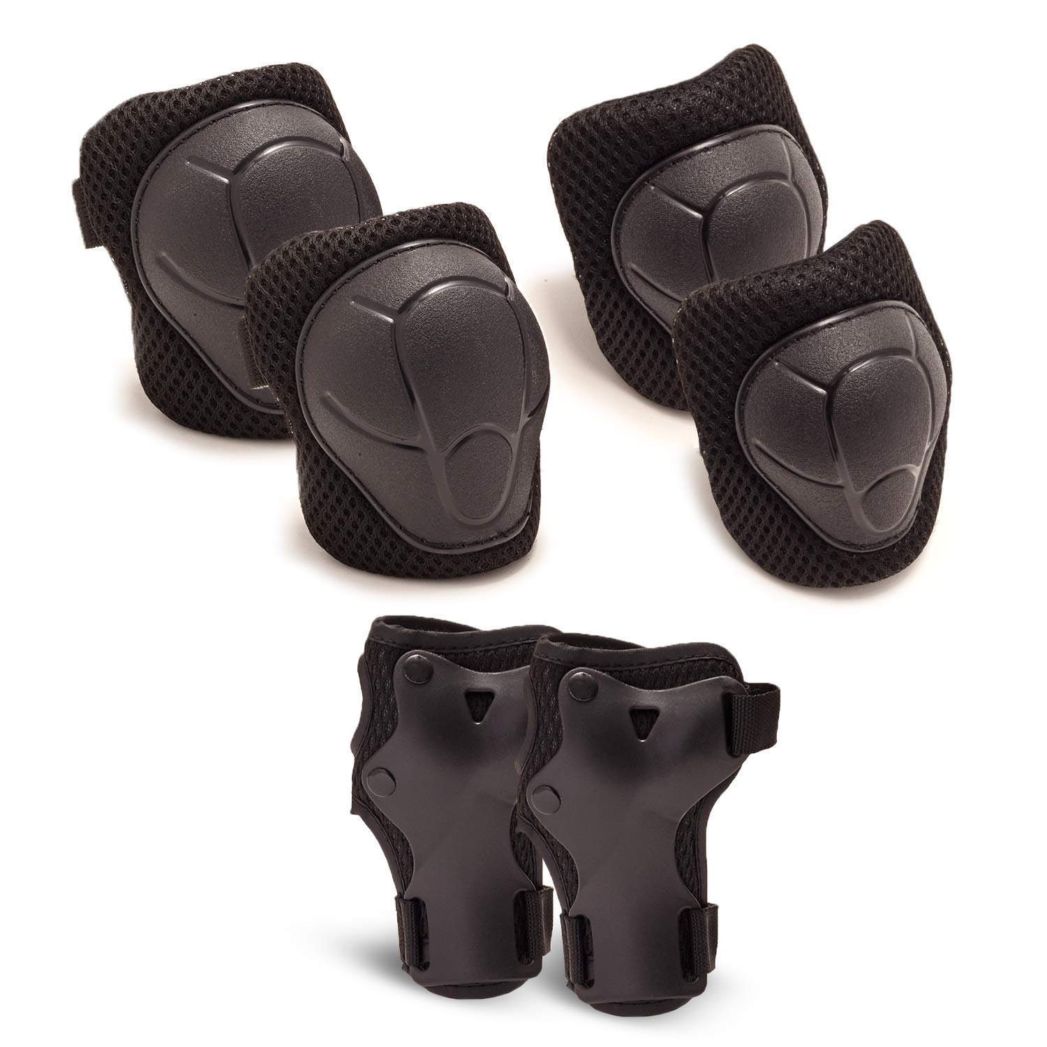 Details about  /Sushi 3-Pack Padset Youth Kids Skate Scooter Elbow Knee Wrist