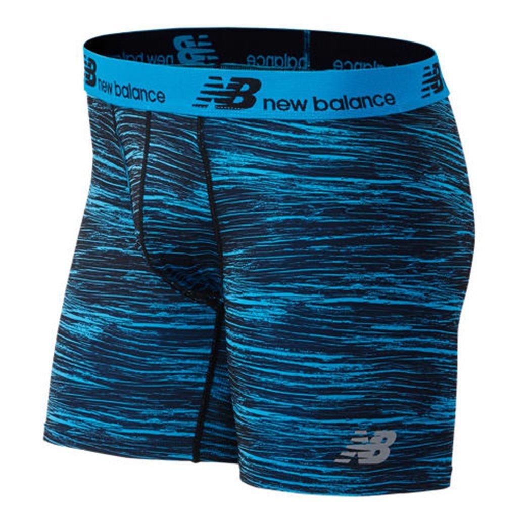 New Balance Men's Dry Fresh Boxer Briefs (Pack of 1) NB1069