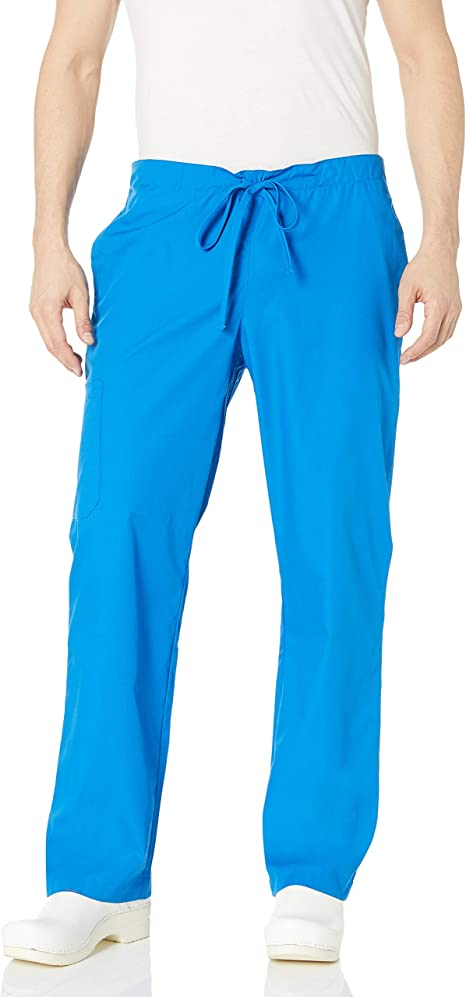 Cherokee scrubs Unisex Med medical scrub pants,pull string,navy