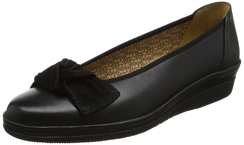 Gabor Shoes 76.403, Bailarinas Mujer 39 EU|Negro (51 Schwarz)