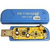 R820T2 & SDR+TCXO(温度補償型水晶発信器±0.5PPM)実装カスタムチューナー単品Blue[RTL2832U+R820T][広帯域受信用][High quality USB-CN][RTL-SDR専用]