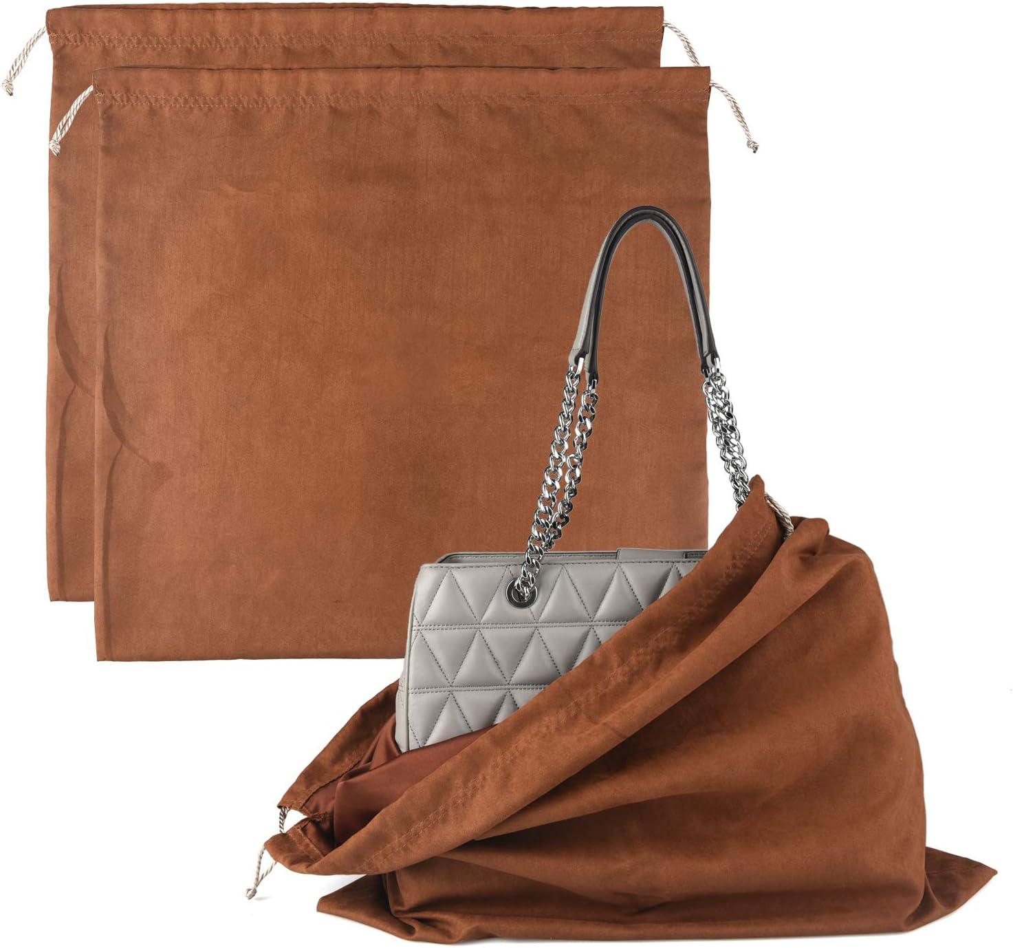 drawstring flannel bags